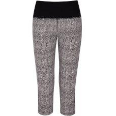 Asquith Bamboo & Organic Cotton Karma Capri Pants - Herringbone