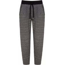 Asquith Organic Cotton Straight Leg Track Pants - Pale Grey Fleece