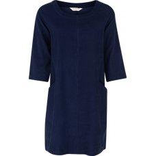 Nomads Needlecord Tunic Dress - Navy