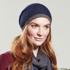 Nomads Chevron Knit Hat - Indigo