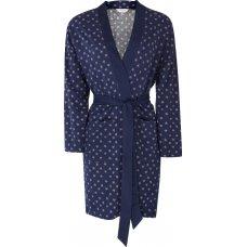 Nomads Organic Cotton Stella Dressing Gown - Indigo