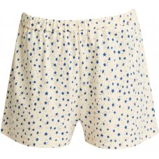 People Tree Organic Pyjama Shorts - Stars