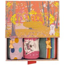 Powder Bamboo Ladies Sock Gift Box - Westie