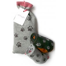 Thought Paws Bamboo Socks Pocket Gift Set