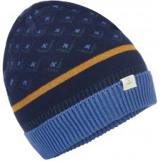 Mudd & Water Evergreen Knitted Navy Beanie Hat