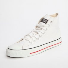 Classic Ethletic Fairtrade Hi Top Trainers - Off White