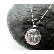 LA Jewellery F**K IT Silver Necklace