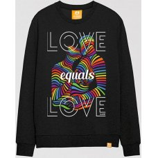 All Riot 'Love is Love' Gender Neutral Sweatshirt