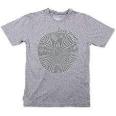 Silverstick Men's 'Love Trees' T-Shirt - Ash Marl
