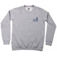 Silverstick Women's 'Live Wild' Sweatshirt - Ash