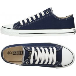 Ethletic Fairtrade Trainers - Dark Blue