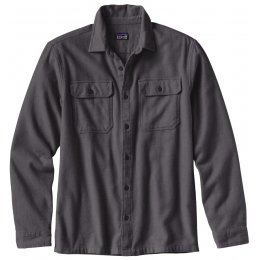 Patagonia Mens Fjord Flannel Shirt - Forge Grey