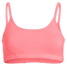 FROM Clothing Organic Cotton Yoga Bra - Coral Pink