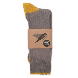Caburn Contrast Socks - Granite
