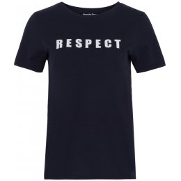 People Tree Respect T-Shirt - Navy