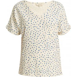 People Tree Organic Short Sleeve Pyjama Top - Stars
