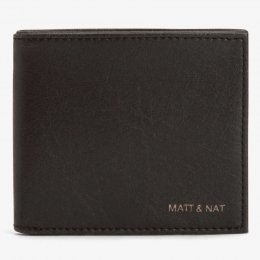 Matt & Nat Vegan Rubben Wallet - Black