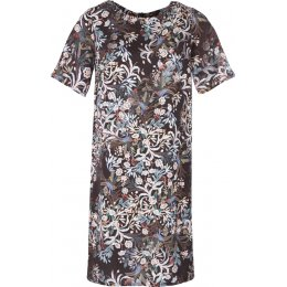 Thought Blooms Tencel Dress