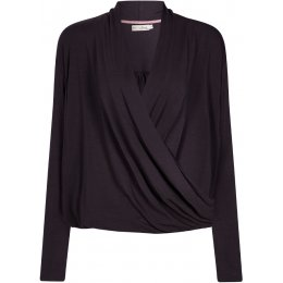Komodo Ongo Bamboo Wrap Top - Charcoal
