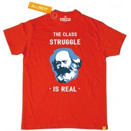 All Riot Class Struggle is Real Organic T-Shirt