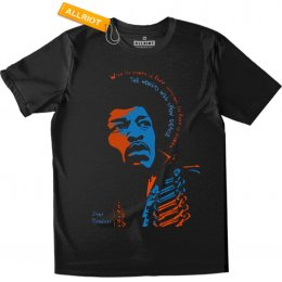 All Riot Jimi Hendrix Power of Love T-Shirt
