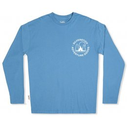 Silverstick Mens Adventure Goods Long Sleeve Tee - Atlantic