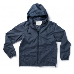 Thought Mens Recycled Jamie Rain Jacket - Navy