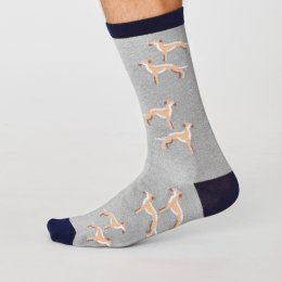 Thought Mens Bamboo Canine Socks