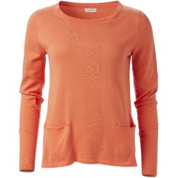 Nomads Organic Cotton Pocket Jumper - Mango