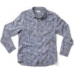 Nomads Cotton Diamond Shirt - Smoke