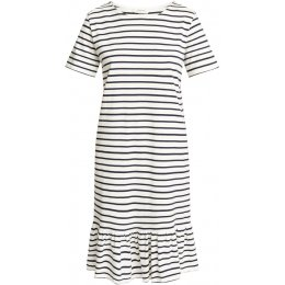 People Tree Navy Stripe Selah Dress