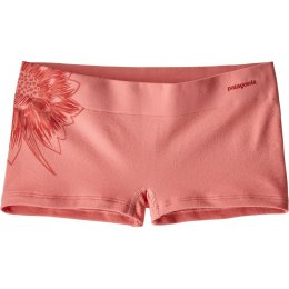 Patagonia Active Mesh Boy Shorts - Peak Pink Cereus Graphic