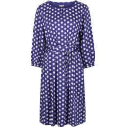 Mudd & Water Drift Away Dress - Navy Shell Print