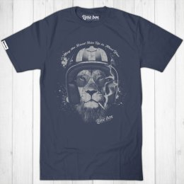 Mens Smoking Lion Fair Wear Cotton T-Shirt