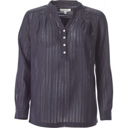 Thought Dark Navy Tolza Blouse