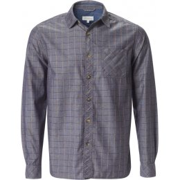 Thought Yarn Dye Check Shirt - Blue