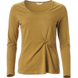 Nomads Twist Detail Top - Ochre