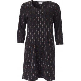 Nomads Black Ikat Tunic Dress