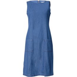 Bibico Matilde Denim Pinafore Dress
