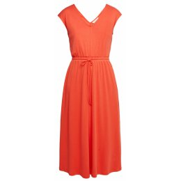People Tree Fiery Red Delphine Dress