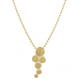 Kashka London Big Bubbles Gold Plated Necklace