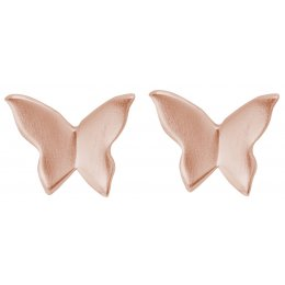 Kashka London Unfolding Rose Gold Earrings