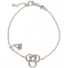 Kashka London Hope Silver Plated Bracelet