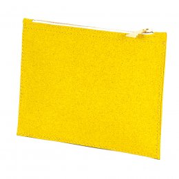 Wilby Primrose Yellow Pouch