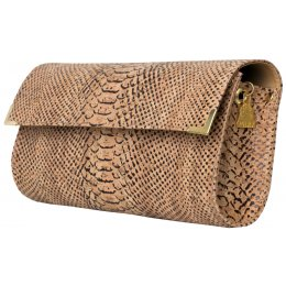 Wilby Vroc Long Alligator Clutch