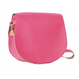 Wilby Bailey Pink Saddle Bag