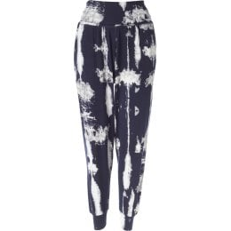 Thought Elsenore Harem Pants - Navy Pattern