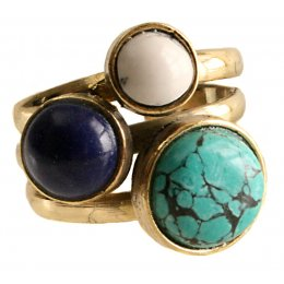 Fair Trade Three Stone Ring