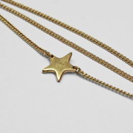 Made Brass Casted Star Bracelet