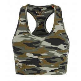 Asquith Bamboo & Organic Cotton Balance Bra Top - Camouflage